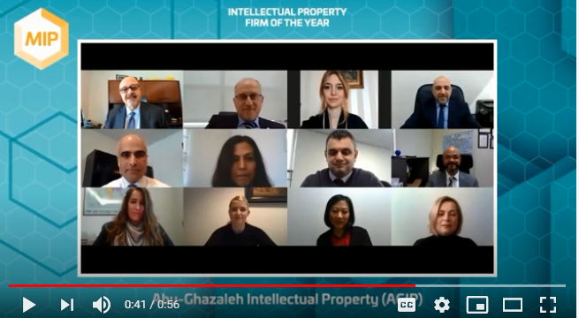 Abu-Ghazaleh Intellectual Property for the 12th year, Best 'Firm in Middle East & North Africa'