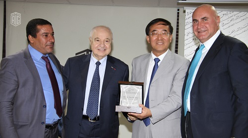 Talal Abu-Ghazaleh Knowledge Forum hosts HE Mr. Pan Weifang the Ambassador of China to Jordan and discusses Jordan's Role as an Incubator for Chinese Investments