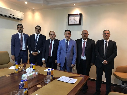 Talal Abu-Ghazaleh Organization cooperates with the Central Bank of Iraq