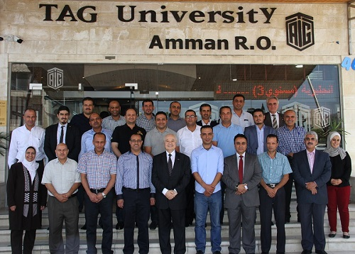 """TAG-Org organizes """"Secretariat's Codes of Practice and Procedures"""" training course for secretaries of governorate councils at the Ministry of Interior"""