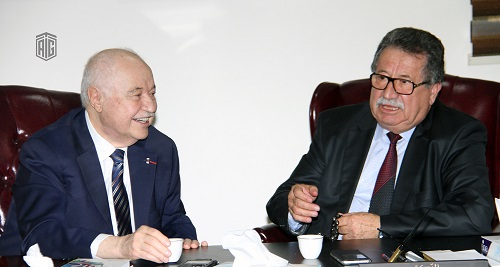 Talal Abu-Ghazaleh Organization and Khawarizmi College discuss means of cooperation