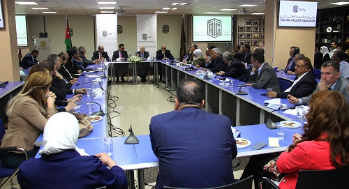 Talal Abu-Ghazaleh Knowledge Forum hosts Minister of Industry in a session held under the theme