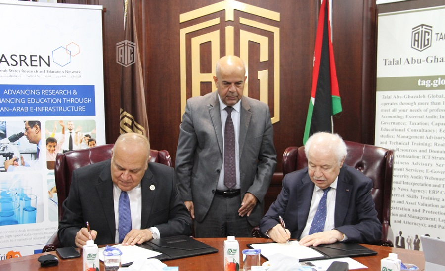 Abu-Ghazaleh: AArU and ASREN agree to closer collaboration in scientific areas