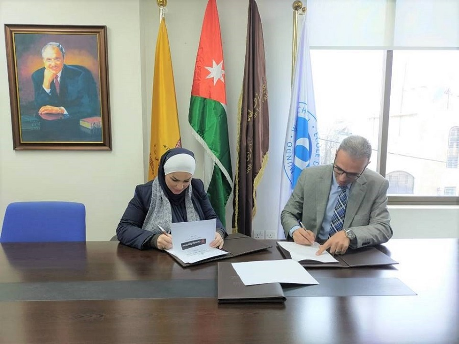 'Abu-Ghazaleh University College for Innovation' and Cambridge High Schools Sign Cooperation Agreements