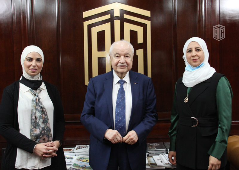 Abu-Ghazaleh Discusses His Vision on Education with Experts in Open Educational Resources