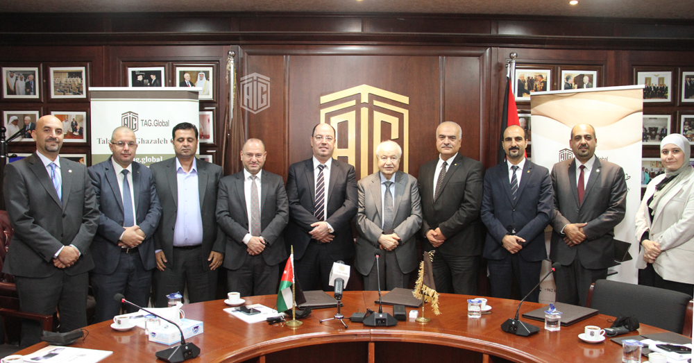 To provide digital transformation services in the Arab region 'Abu-Ghazaleh Global' and Falcons Soft Sign Cooperation Agreement