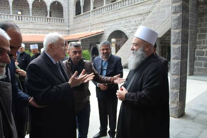 Abu-Ghazaleh Visits the  Syrian Governorate of Al Suwayda