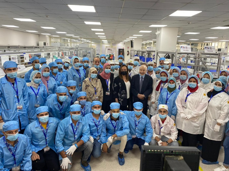 Launch of Production Lines for the First Arab Products of Tablets and Laptops In Partnership between the Arab Organization for Industrialization and Talal Abu-Ghazaleh Global  Under the Slogan 'Made in Egypt'