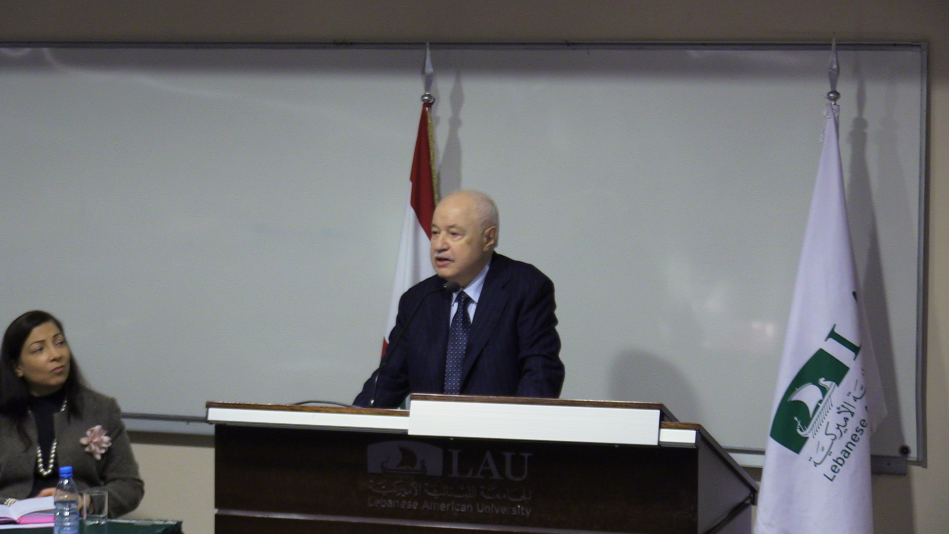 HE Dr. Talal Abu-Ghazaleh's speech entitled 'Is Populism Devouring Democracy?' at the Lebanese American University – Lebanon .