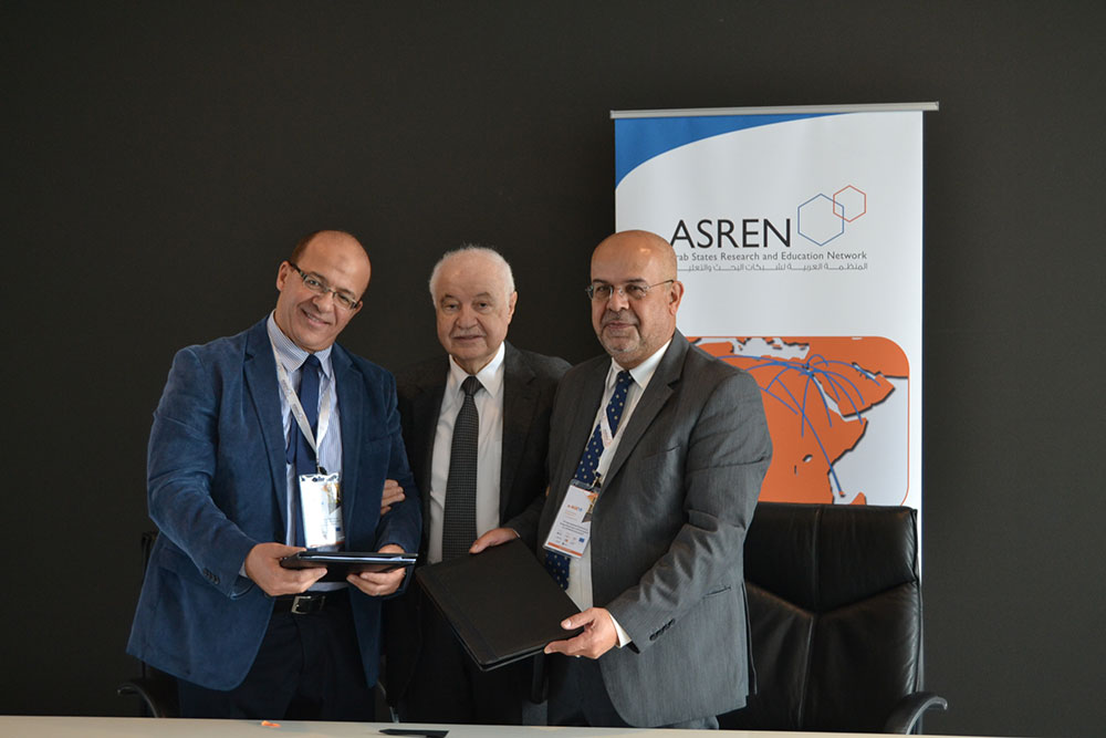 Abu-Ghazaleh: Egyptian Universities Network (EUN) Connects to ASREN and GÉANT under the AfricaConnect3 Project