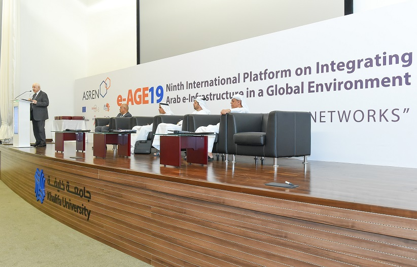 Abu Ghazaleh Chairs ASREN's 9th International Platform on Integrating Arab e-Infrastructures in a Global Environment – e-AGE19
