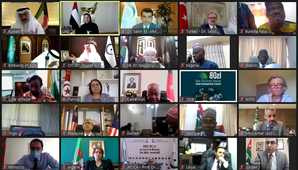 At the Extraordinary Virtual Conference of Culture Ministers of ICESCO Member States Abu-Ghazaleh Calls for Enhancing Digital Culture to Overcome Future Challenges