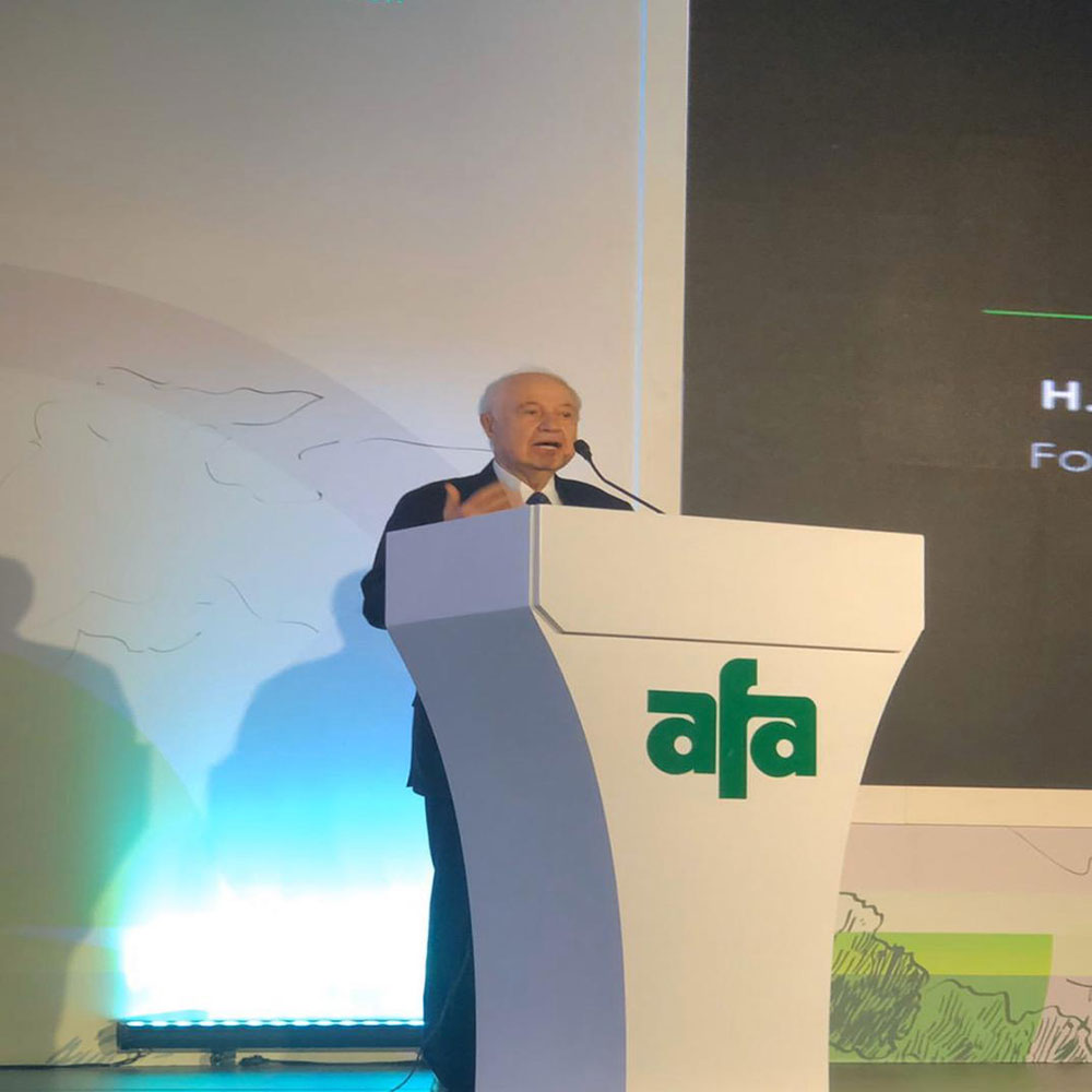 In the Presence of Abu-Ghazaleh as Guest of Honor, Launch of 26th International Annual Fertilizer Forum