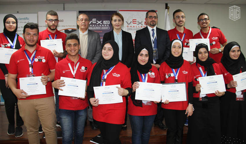 'Abu-Ghazaleh University College for Innovation' Patronizes the 1st VEX IQ National Competition