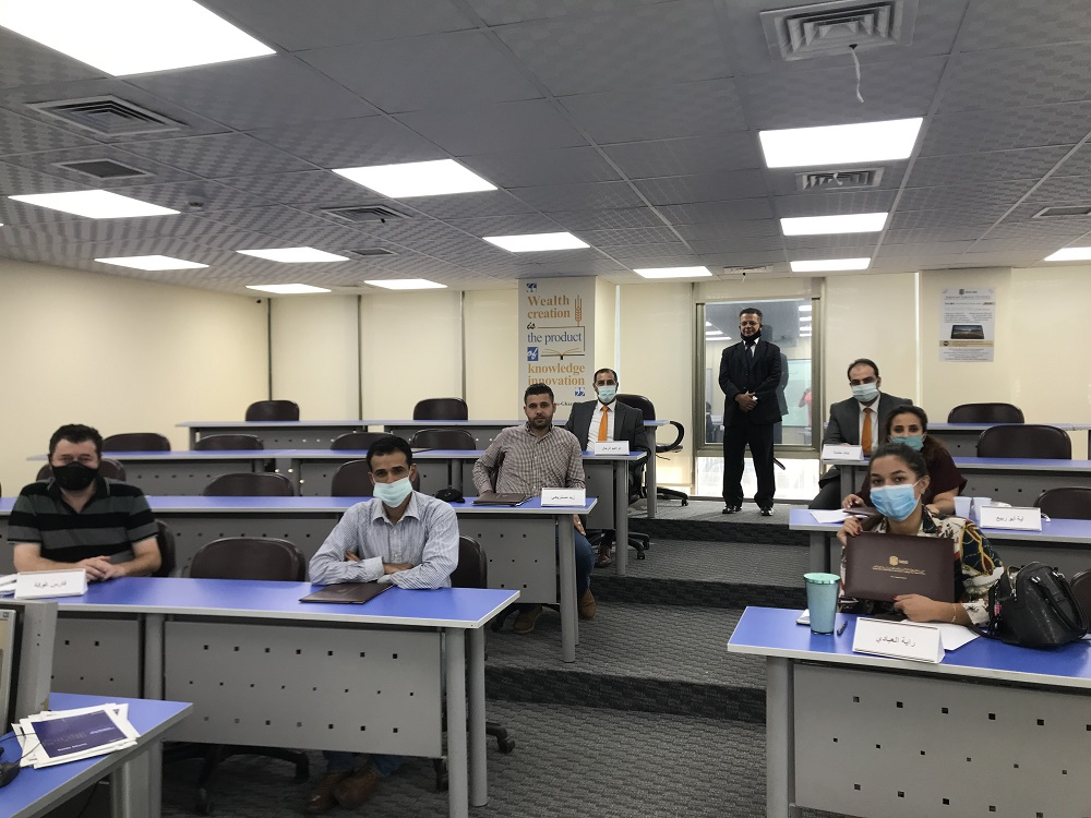 'Abu-Ghazaleh University College for Innovation' Concludes Two Training Courses on 'Comprehensive HR Management'