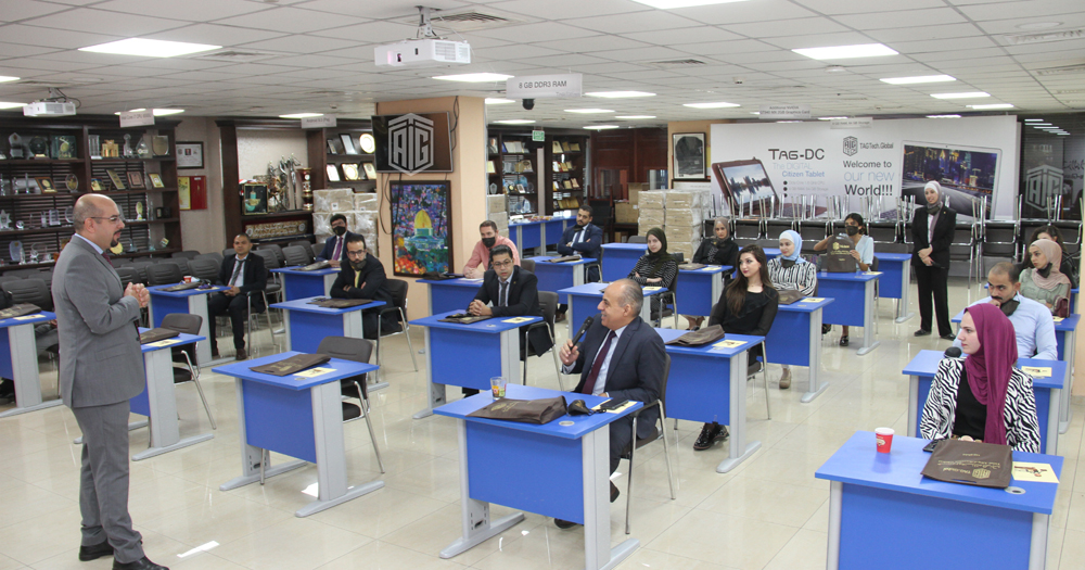 Talal Abu-Ghazaleh Global Organizes Orientation Workshop for New Employees with Distancing