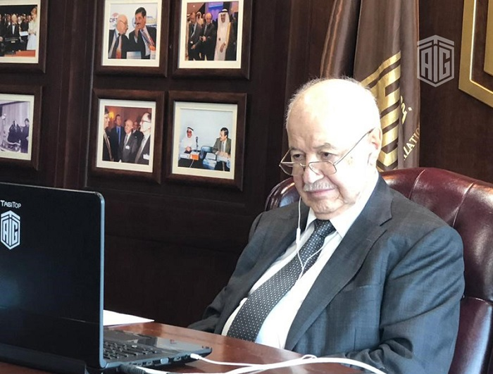 At the Wise Persons Group meeting Abu-Ghazaleh Affirms: Council of Business Leaders and Wise Person Initiative Complement La Verticale's Mission