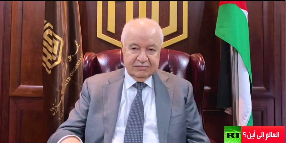 During the weekly 'The World to Where? Program' aired on RT Abu-Ghazaleh: For our existence on Earth, we have to Sell the Present to Buy Future