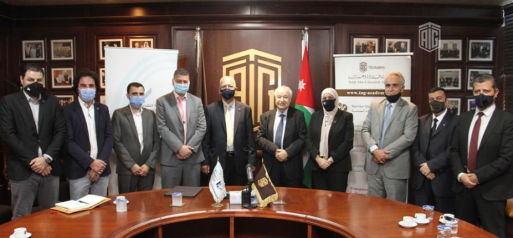 In the field of Training and Building Capacities  'Abu-Ghazaleh Academy' and Jordan Engineers Association Sign Cooperation Agreement