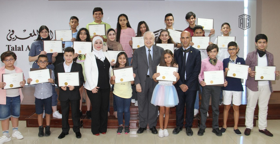Under the patronage of Dr. Abu-Ghazaleh, 'Junior Digital Broadcaster' Course Concludes