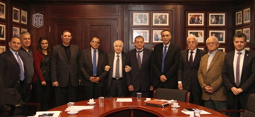 The Food and Drug Committee at Talal Abu-Ghazaleh Knowledge Forum discusses Committee function in the presence of HE Dr. Talal Abu-Ghazaleh and HE Dr. Hayel Obeidat Chairman of the Jordan Food and Drug Administration