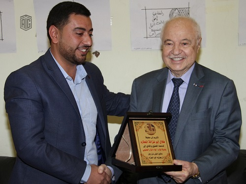 HE Dr. Talal Abu-Ghazaleh inaugurates two knowledge centers at Al-Karak Military Officers Club and Moab Municipality