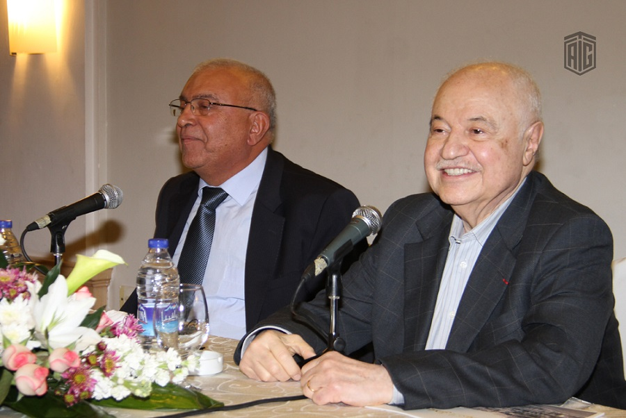 The Orthodox Club and Jaffa Association for Social Development organize a meeting with HE Dr. Talal Abu-Ghazaleh to talk about the challenges he faced in his life.