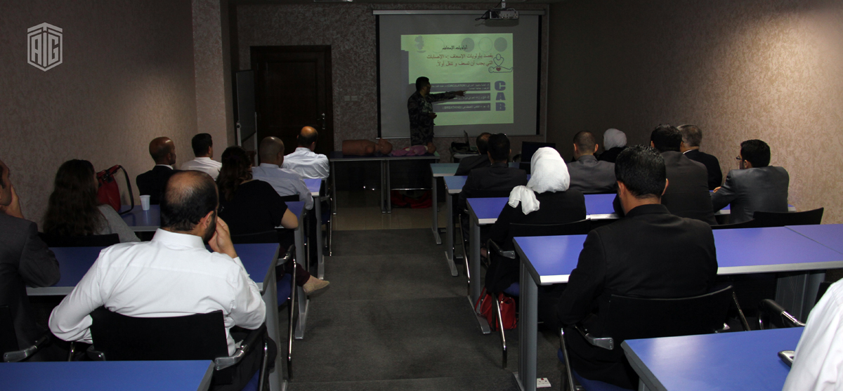 TAG-Org Employees Attend an Awareness Workshop on First Aid and General Safety