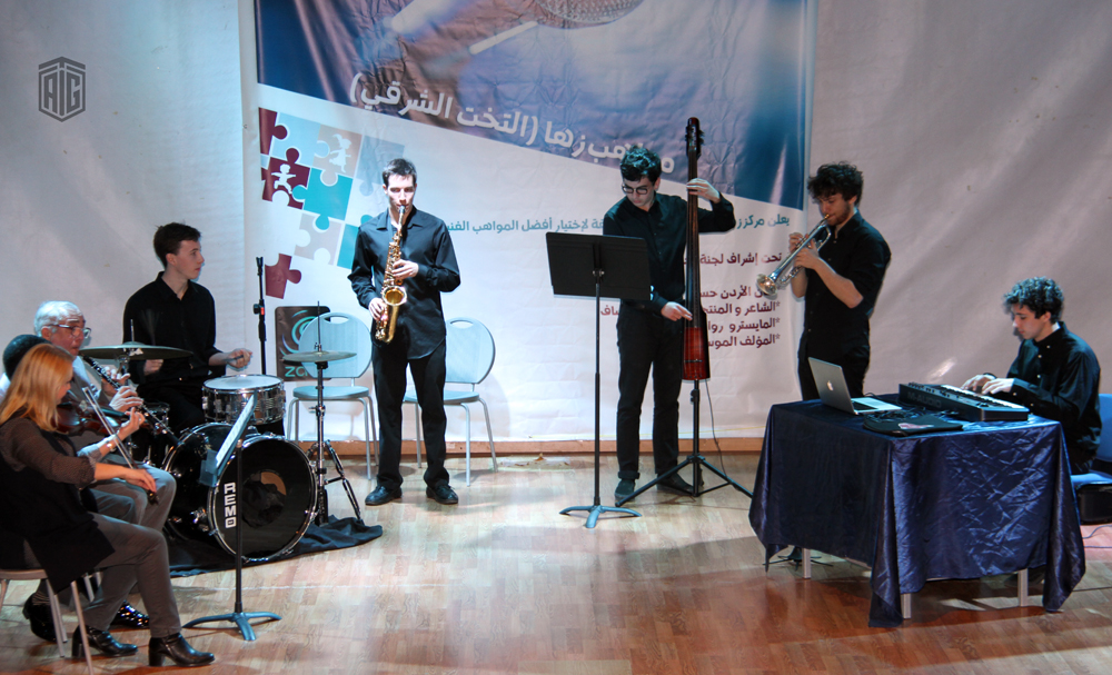 The Jordanian National Orchestra Association (JOrchestra) organizes a Jazz concert for families under the patronage of HE Dr. Talal Abu-Ghazaleh; chairman of the Board of Trustees of the Association at Zaha Cultural Center.