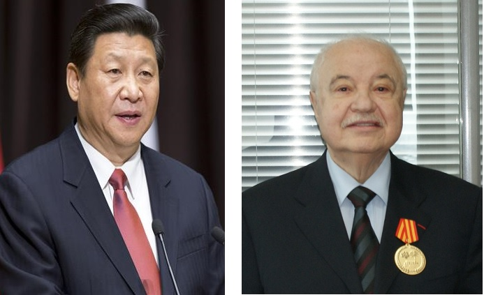 HE Mr. Xi Jinping, President of the People's Republic of China honors HE Dr. Talal Abu-Ghazaleh for enhancing the Sino-Arab relations