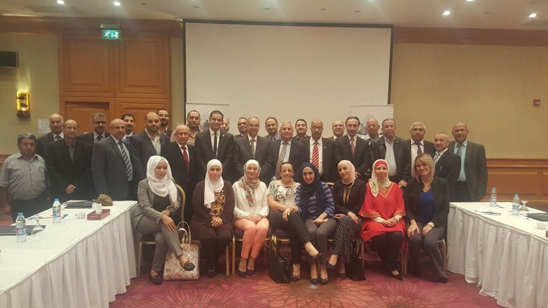 The Arab Society of Certified Accountants (ASCA/Jordan) conducts a training course on International Public Sector Accounting Standards (IPSAS) for Jordan Audit Bureau staff.