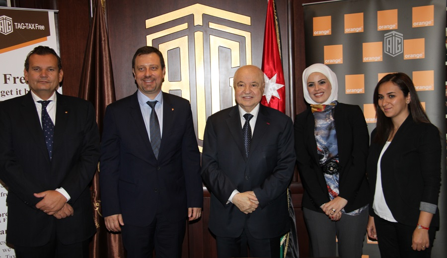 ?Orange Jordan? signs partnership agreement with Talal Abu-Ghazaleh Organization to introduce new tax-free shopping services in its showrooms