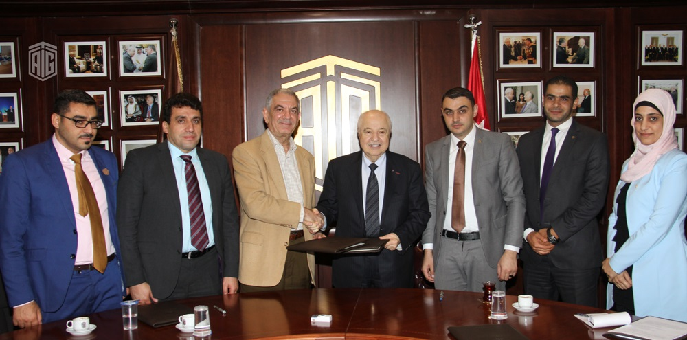 Talal Abu-Ghazaleh Organization and Jerash University sign two cooperation agreements in the field of professional training and granting specialized professional certificates