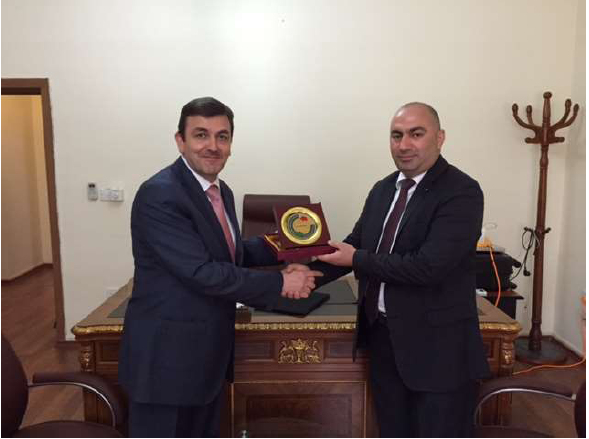 Ministry of Industry and Trade in Iraqi Kurdistan honors Abu-Ghazaleh Intellectual Property ? Erbil office with a shield and certificate of appreciation in recognition of its efforts in serving and developing Intellectual Property in Kurdistan.