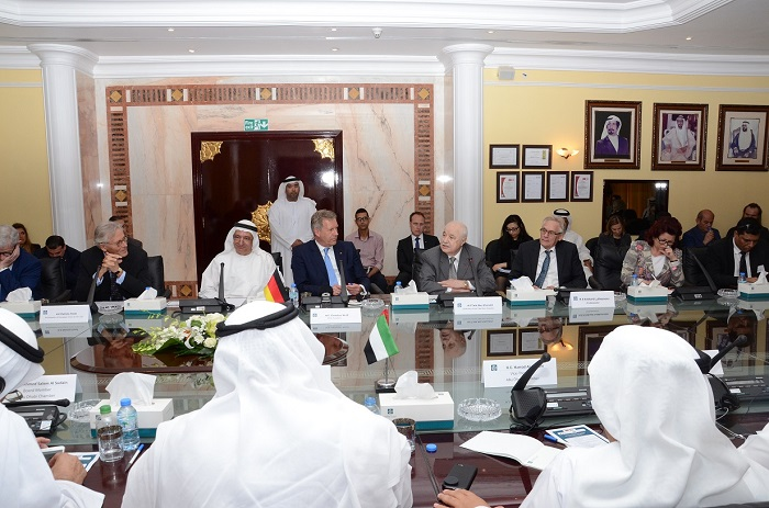 Abu Dhabi Chamber of Commerce hosts a diplomatic seminar on Euro-Arab economic cooperation, which was co-organized by Talal Abu-Ghazaleh Organization (TAG-Org) and the Euro-Mediterranean-Arab Association