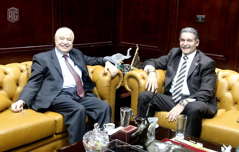 A high-level meeting between HE Dr. Talal Abu-Ghazaleh and HE Mr. Bruno Saccomani, Canadian Ambassador to Jordan, was held to discuss women?s empowerment in Jordan