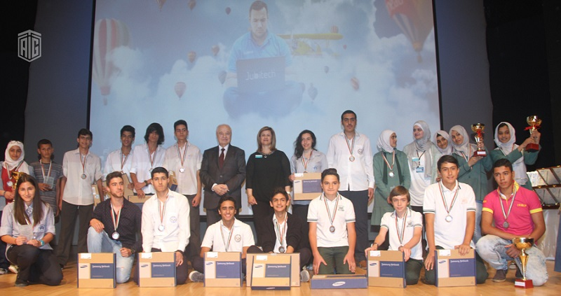 HE Dr. Talal Abu-Ghazaleh Patronizes Arab Youth Competition for Creative Electronic Design ?Jubitech 13? at Jubilee School