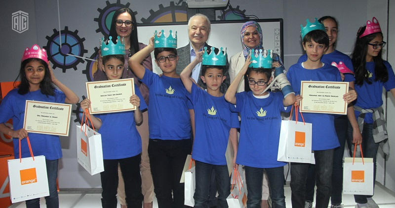 HE Dr. Talal Abu-Ghazaleh, initiates a new competition for Hello World Kids programmers to design and develop a program that makes web searching process faster and easier.