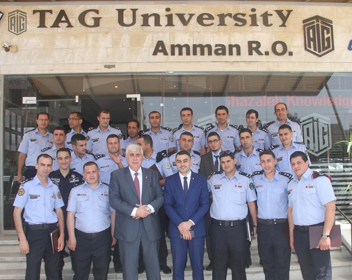 Public Security Directorate Officers Graduate a ToT Course Delivered by TAG-Org