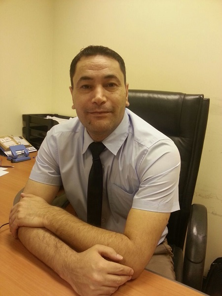Dr. Mohammed Al-Barghouthi, Logistics Department Coordinator at TAGUCB