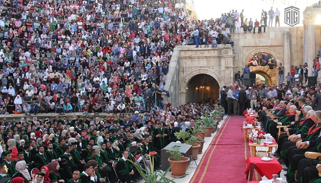 HE Dr. Talal Abu-Ghazaleh Patronizes the Graduation Ceremony of Jerash University?s 20th Batch Alumni with 10,000 attendees.