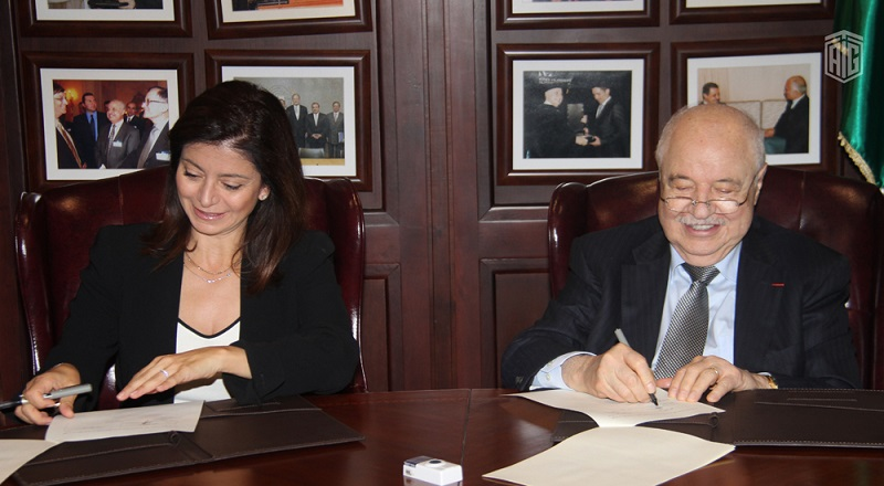 HE Dr. Talal Abu-Ghazaleh and HRH Princess Dana Firas, the President of the Petra National Trust, Sign a Cooperation Agreement