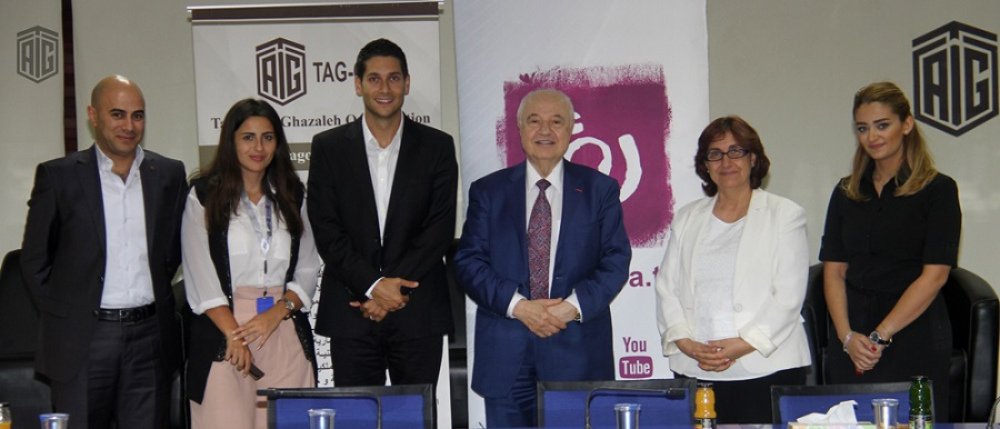 HE Dr. Talal Abu-Ghazaleh and Mr. Fares Sayegh, General Manager of Ro?ya TV signed a Memorandum of Understanding to explore methods of cooperation between both parties.