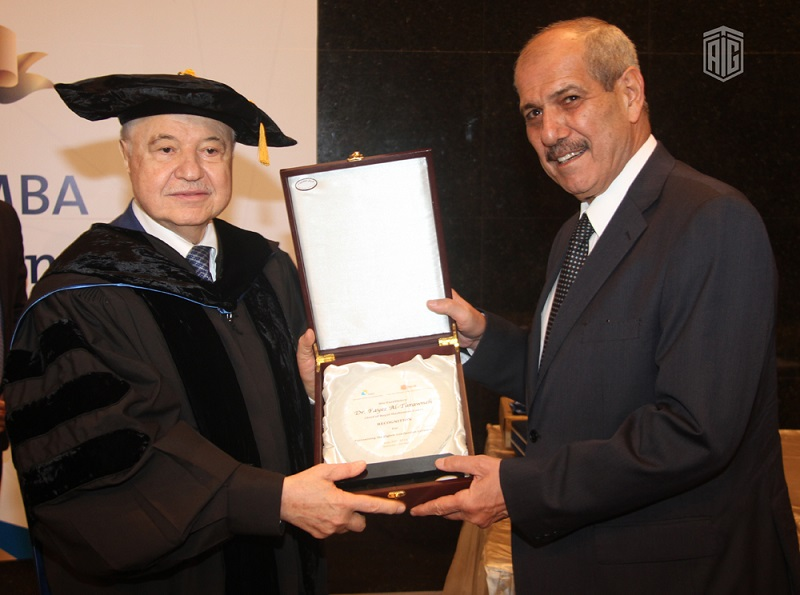 Talal Abu-Ghazaleh Graduate School of Business (TAG-SB)/German Jordanian University (GJU) celebrated the graduation of the 8th batch of the Master degree students under the patronage of HE Dr. Fayez Al-Tarawneh, Chief of the Royal Hashemite Court.