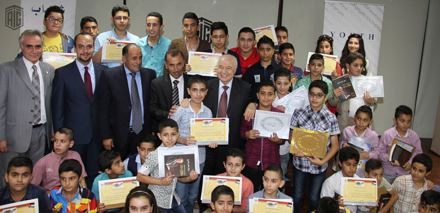 HE Dr. Talal Abu-Ghazaleh patronized the Graduation Ceremony to acknowledge distinguished students of