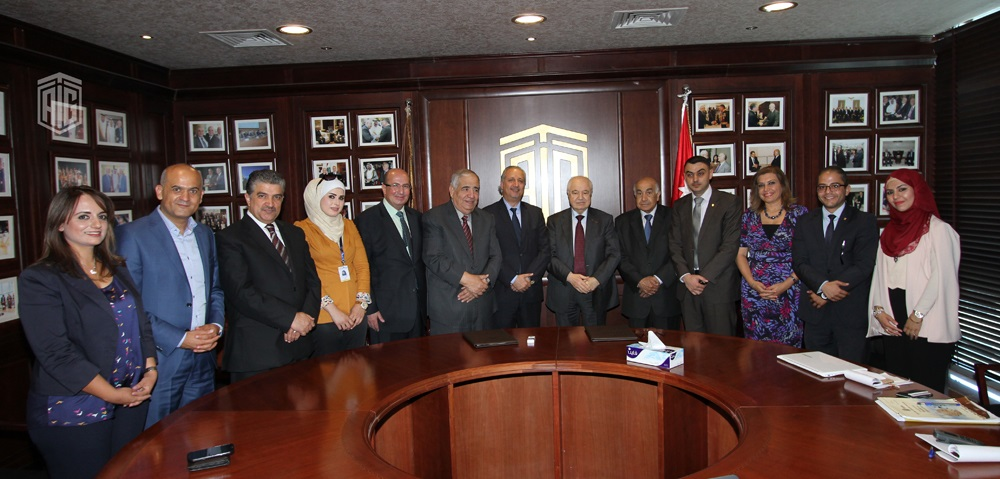 HE Dr. Talal Abu-Ghazaleh signed an agreement with Dr. Natheer Abu Obeid, President of German-Jordanian University (GJU), to accredit GJU as an official venue for conducting AGCA-ITC training courses and examinations