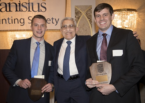 - Two students from Canisius College in the United States receive the Talal Abu-Ghazaleh International Award for Excellence in Accounting Programs