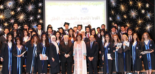HE Dr. Talal Abu-Ghazaleh patronizes graduation ceremony of the 29th Batch of National Program, 3rd Batch of International Program of Al Ra'ed Al Arabi School