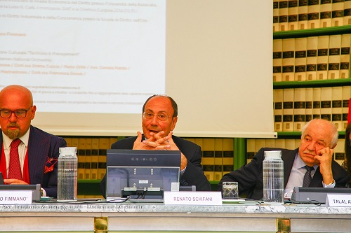 Italian Senate hosts HE Dr. Talal Abu-Ghazaleh, in a special seminar on Intellectual Property Rights; the copyrights of authors, publishers and artists