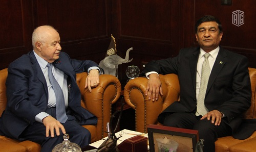 HE Dr. Talal Abu-Ghazaleh receives the Pakistani Ambassador to Jordan and announces TAG-Org's 101 office in Lahore